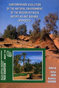 Contemporary evolution of the natural environment of the region between Antiatlas and Sahara (Morocco)