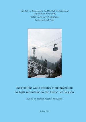 Sustainable water resources managementin high mountains in the Baltic Sea Region